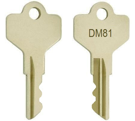 Allen-Bradley DM81 keys / X433358 key