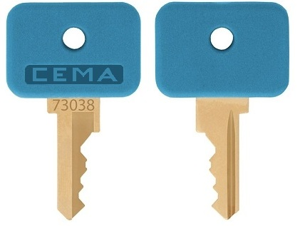 GE  (CEMA)  #  73038    replacement keys