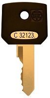 Schneider Electric  #  C32123  replacement keys
