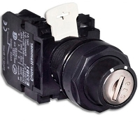 Eaton / Cutler-Hammer Key Switch,  22mm