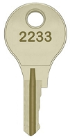 Dirak  2233  replacement keys