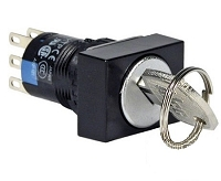 Idec Key Switch,  16mm