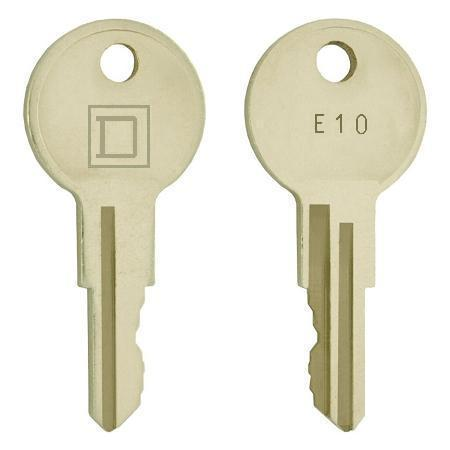Square  D   E10      replacement keys