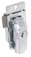 Federal Pacific / FPE panelboard trim lock.