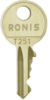 RONIS T251        replacement keys