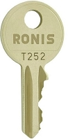 RONIS T252        replacement keys